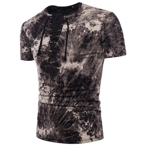 Sensationally Fabulous Clothing, mens, t-shirts, tops Black / S Camouflage T-Shirt