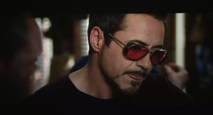 Iron Man 3 Tony Starks Designer Vintage Sunglasses