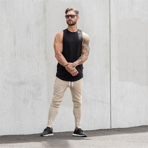eprolo Clothing, Shoes & Accessories:Men:Men's Clothing:Activewear:Activewear Bottoms t-shirts collar shirts Gym Fitness Fashion Tanks Tops