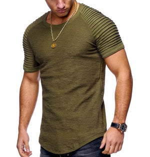 eprolo Clothing, Shoes & Accessories:Men:Men's Clothing:Activewear:Activewear Bottoms t-shirts collar shirts 7 / M Men's Fashion Summer T-Shirt