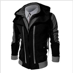 Sensationally Fabulous Clothing, Shoes & Accessories:Men:Men's Clothing:Coats & Jackets jumpers Black / M Men's Hooded Jumper
