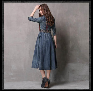 Sensationally Fabulous Clothing, Shoes & Accessories:Women:Women's Clothing:Dresses Boho Dresses w Belt