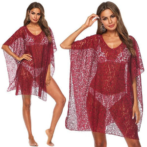 eprolo Clothing, Shoes & Accessories:Women:Women's Clothing:Dresses Swimsuit Cover Up Beach Lace Dresses