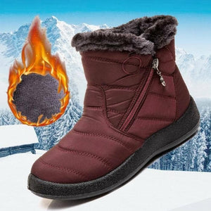 Oberlo Clothing, Shoes & Accessories:Women:Women's Clothing:Jumpers & Cardigans Warm Waterproof Snow Ankle Boots