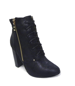 Azure Ophion Footwear Pu Leather Retro Boots