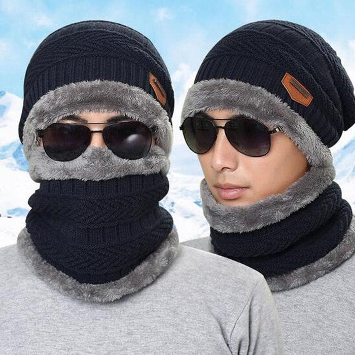 Protection Scarf Beanie Set