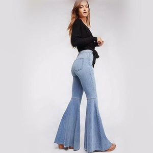 Flare-Dazzle Denim Jeans - Sensationally Fabulous