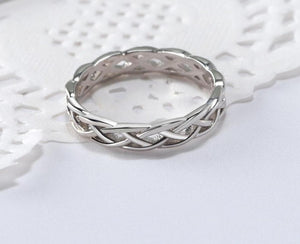 Sterling Silver Twisted Band Rings - Sensationally Fabulous