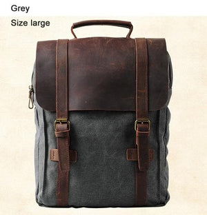 Vintage Fashion Leather Backpack - Sensationally Fabulous