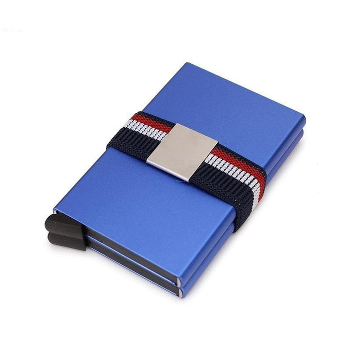 Double RFID Card Holder Metal Wallet