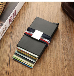 Double RFID Card Holder Metal Wallet - Sensationally Fabulous