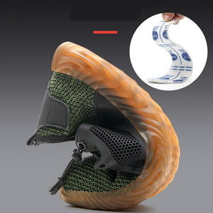 Next Chain Mens-runners-walking-sneaker fashion shoes Breathable Steel Cap Sneakers