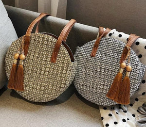 Ali Orders Women - Bags - Leather-Crossbody-Shoulder-Hand Bag Fashion Straw Handbags