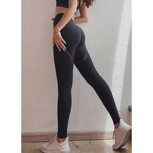 eprolo Women-Jeans-Pants-Legging Black / S Non-See Through Active Yoga Leggings