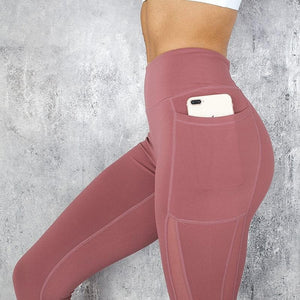 eprolo Women-Jeans-Pants-Legging Hidden Tech Pocket Yoga Pants