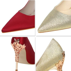 High Heel Pointed Toe Shoes - Sensationally Fabulous