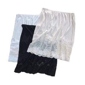 Silk Lace Mini Skirt Slips - Sensationally Fabulous