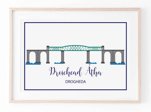 The Boyne Viaduct Drogheda | Prints of Ireland