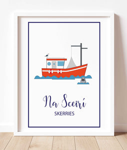 Skerries Fishing Trawler | Prints of Ireland