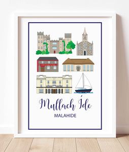 Malahide Landmarks | Prints of Ireland