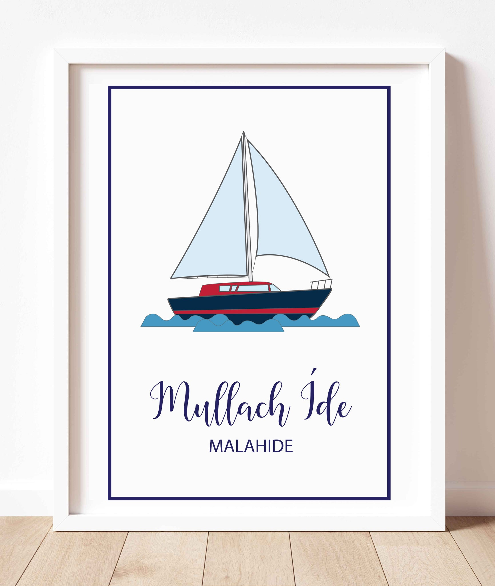 Malahide Yacht | Prints of Ireland