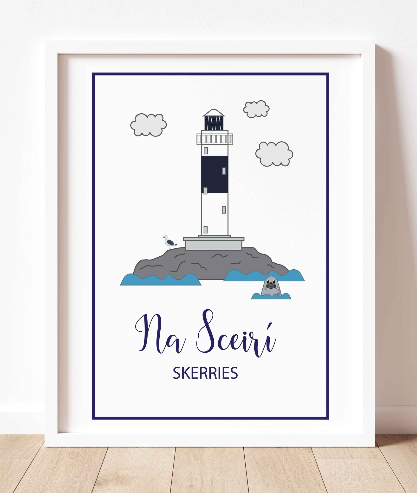Rockabill Lighthouse Skerries | Prints of Ireland