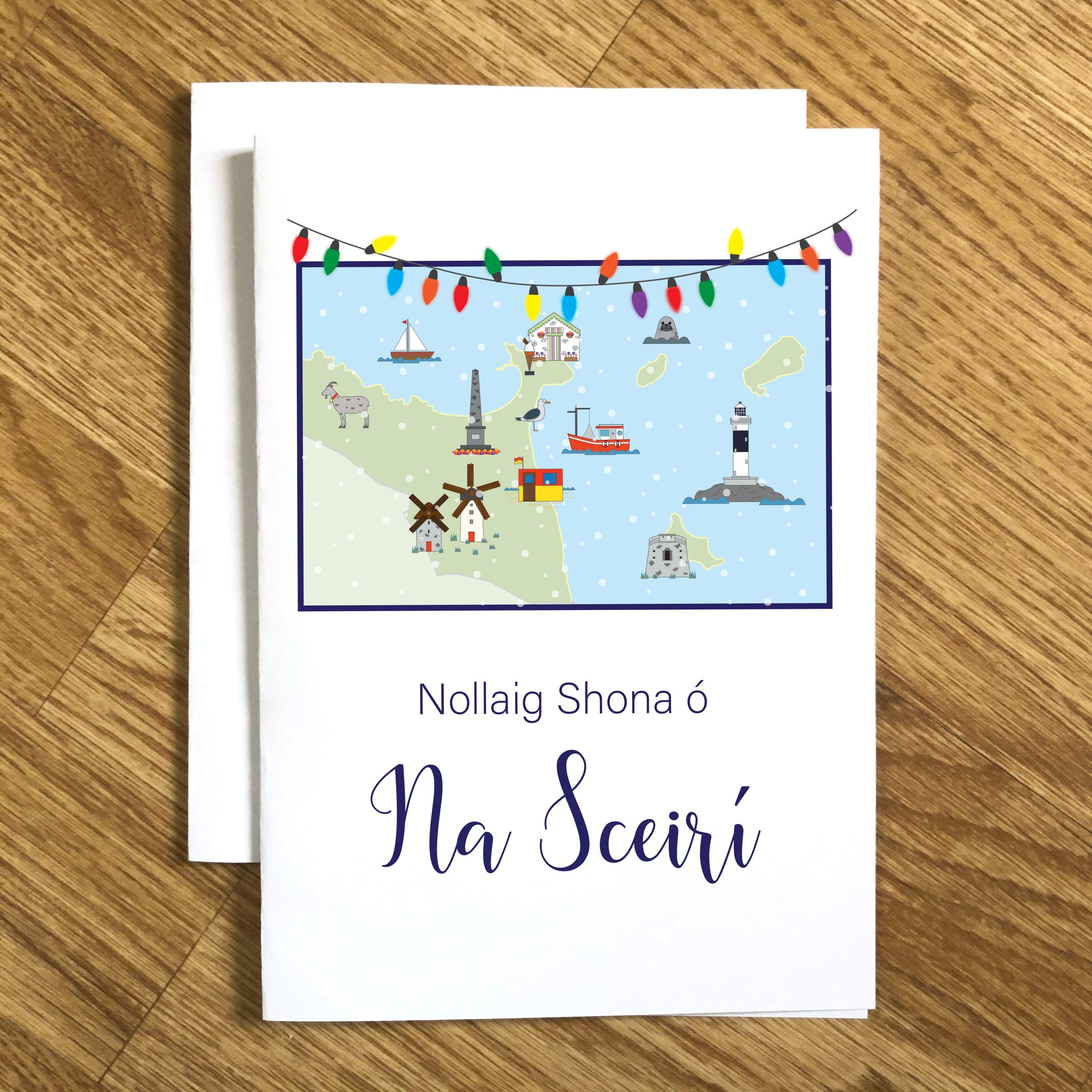 Skerries Christmas Cards (5 Pack)