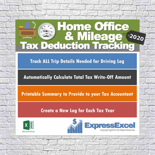 Tax Deduction Spreadsheets