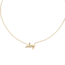 Load image into Gallery viewer, Slay Nameplate Necklace