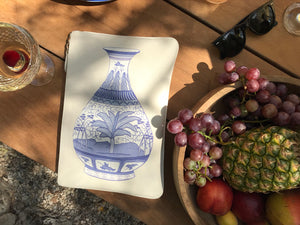 Load image into Gallery viewer, POCHETTE 'LA GRANDE VASE' BLANC