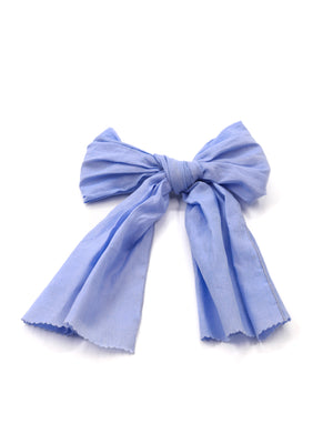 HAIR BOW LAVENDER