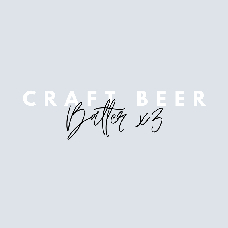 Balter x 3 Craft Beers