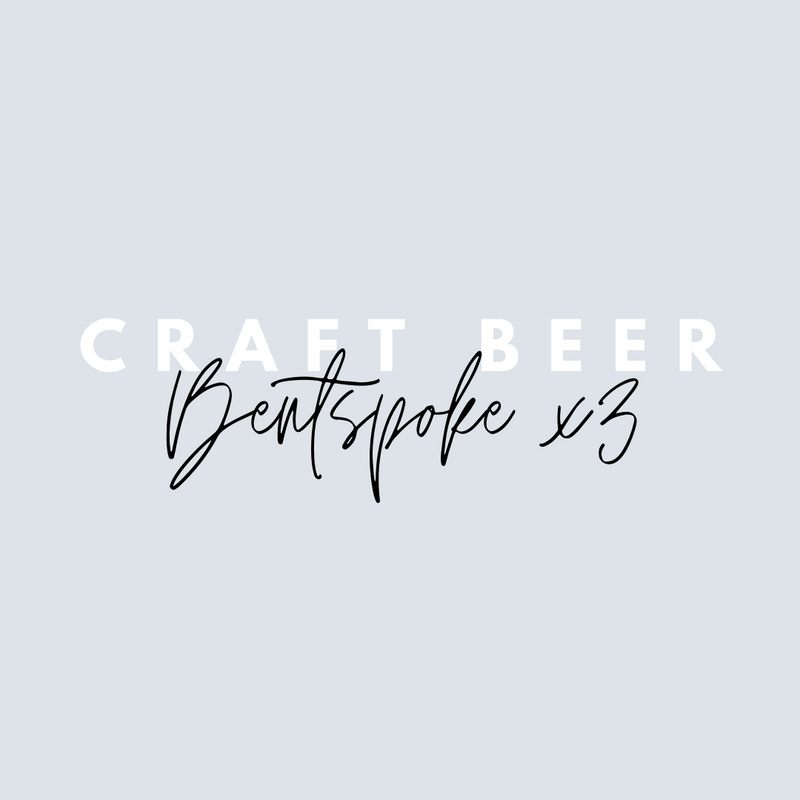 Bentspoke x 3 Craft Beers