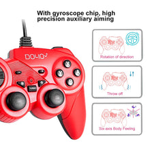 Load image into Gallery viewer, DOYO S705 game controller red