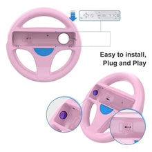 Load image into Gallery viewer, DOYO 2 Pack Wheel Steering Wii Controller