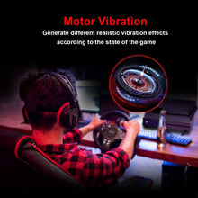 Load image into Gallery viewer, 270 Degree Driving Gaming Racing Wheel