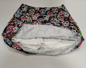 COMING SOON!! LIMITED EDITION Sugar Skull Skort, Pre Order to reserve your size.