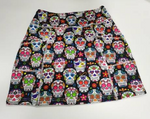Load image into Gallery viewer, COMING SOON!! LIMITED EDITION Sugar Skull Skort, Pre Order to reserve your size.