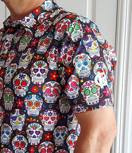 Men's Sugar Skull KG polo