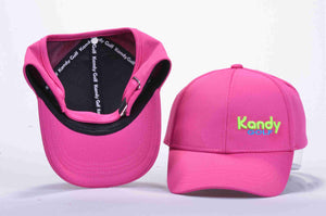 Girls open back hat