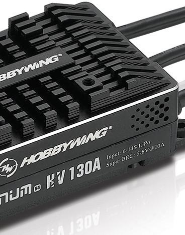 Hobbywing Pro V4-130A-HV coming soon