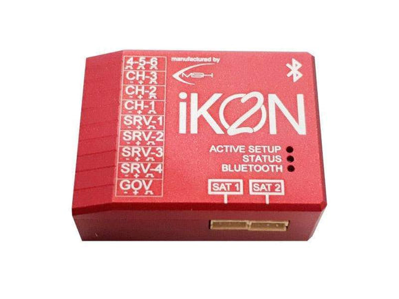 IKON 2 Flybarless System Integrated Bluetooth w/ Aluminum Case