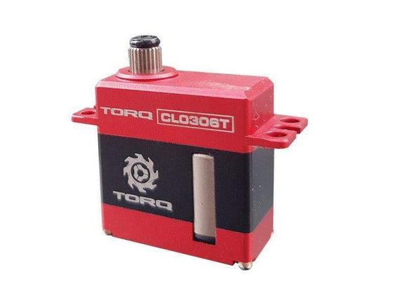 TORQ CL0306T Micro HV Rudder Helicopter Servo
