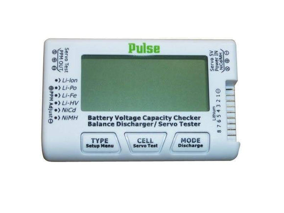 Pulse CellMeter 8 - Lipo Battery Checker & Servo Tester
