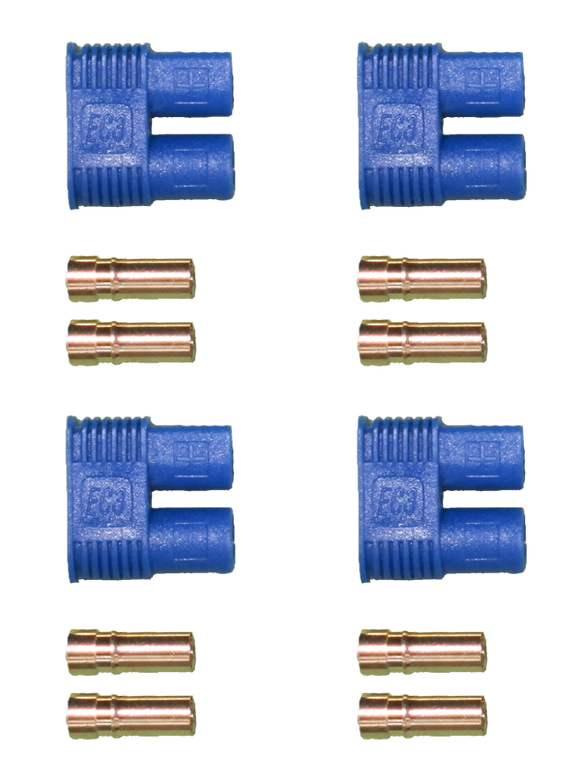 MALE EC3 CONNECTORS (4 COUNT) AC-EC3M