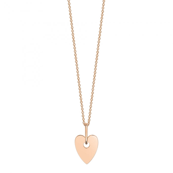 Mini Heart On Chain Necklace