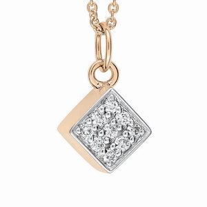 Mini Diamond Ever Square On Chain
