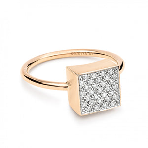 Diamond Ever Square Ring