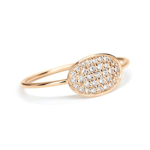 Mini Sequin Diamond Ring