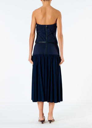 Punto Milano Strapless Dress